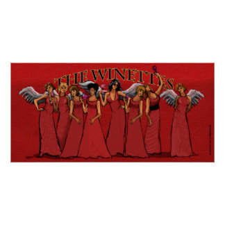 The Winettes, by Andrea Boff Poster