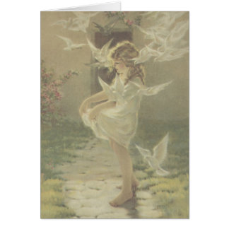 The Winged Aureole Card