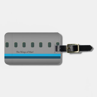 The Wings of Man Luggage Tag