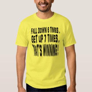 The Winning Attitude. Tees