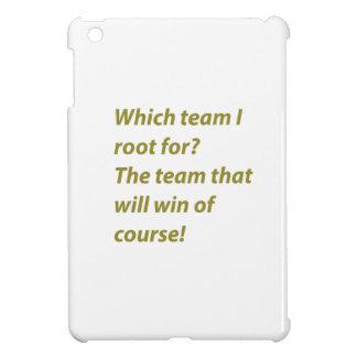 The winning supporter iPad mini cover