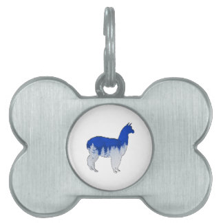 THE WINTER MIX PET NAME TAG