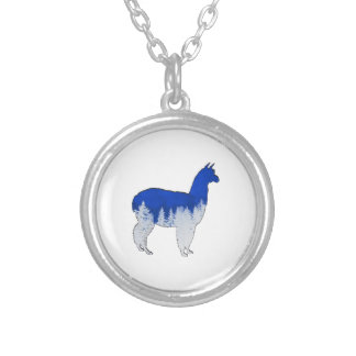 THE WINTER MIX SILVER PLATED NECKLACE