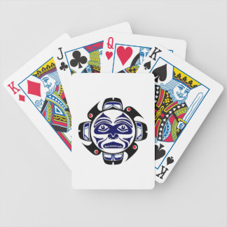 THE WINTER MOON BICYCLE PLAYING CARDS
