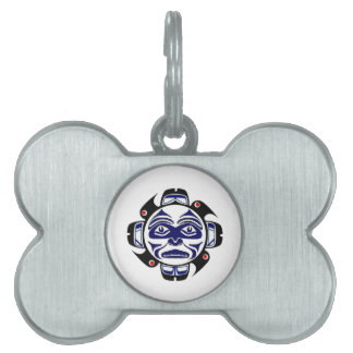 THE WINTER MOON PET ID TAG