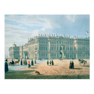 The Winter Palace as seen from Palace Passage Postcard