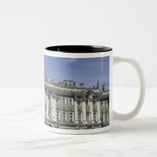 The Winter Palace, St Petersburg, Russia (RF) Two-Tone Coffee Mug