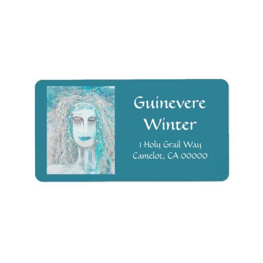The Winter Solstice Queen Label