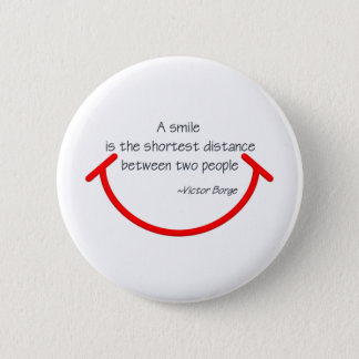 The wisdom of Victor Borge 2 Inch Round Button