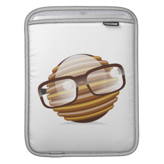 The Wise Guy - The Geek Smiley With Glasses iPad Sleeves