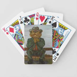 The Wise Toad Bicycle Playing Cards