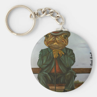 The Wise Toad Keychain
