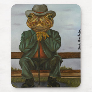 The Wise Toad Mouse Pad