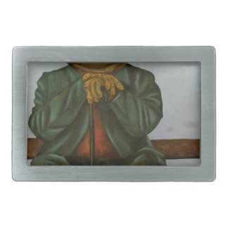 The Wise Toad Rectangular Belt Buckle