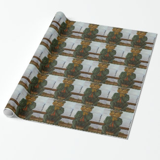 The Wise Toad Wrapping Paper
