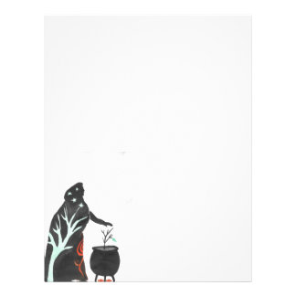 The Witch And Her Cauldron Letterhead