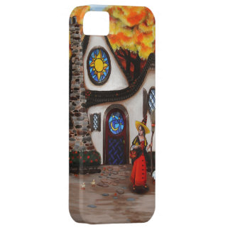 The Witch and her Geese iPhone 5 Cover