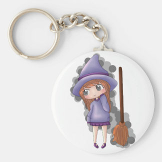 the witch girl. keychain