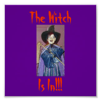 The Witch, Is In!!! Poster