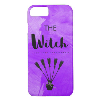 The Witch Purple Watercolour Textured iPhone 8/7 Case