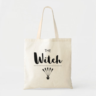 The Witch Witchy Brooms Black Magick Tote Bag