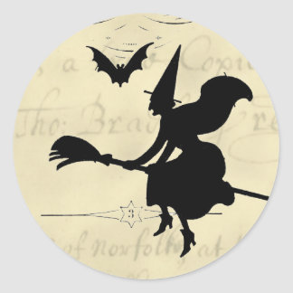 The Witches Ball Halloween Classic Round Sticker