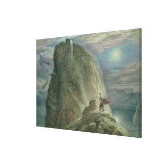 The Witches' Home No.2 Canvas Print