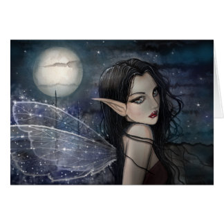 The Witching Hour Gothic Fairy Card