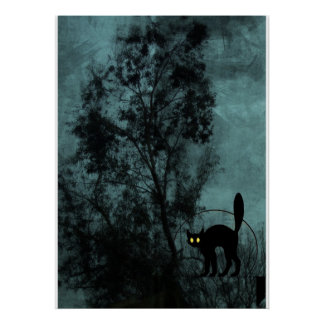 The Witch's Cat Posters
