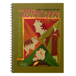 The Witch's Friend November Magazine Spiral Note Book