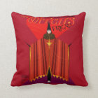The Witch's Friend October Magazine Throw Pillow