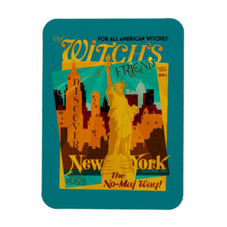 The Witch's Friend September Magazine Rectangular Photo Magnet