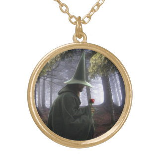 The Wizard Gold Plated Necklace