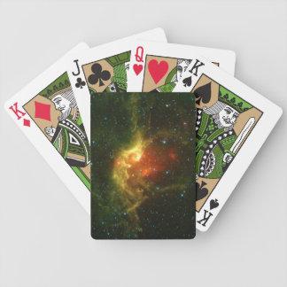The Wizard Nebula Poker Deck