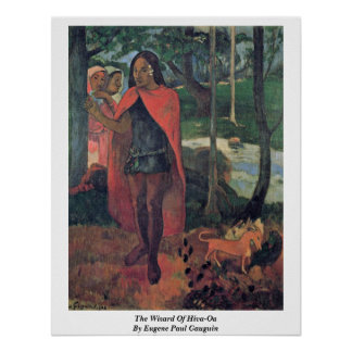 The Wizard Of Hiva-Oa By Eugene Paul Gauguin Poster