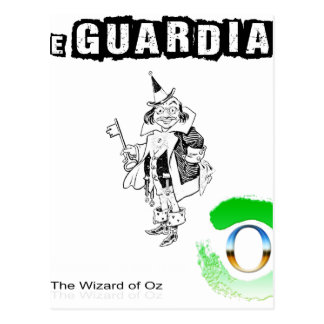 The wizard of OZ - illustration t-shirt Postcard