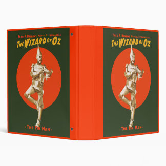 The Wizard Of Oz musical extravaganza Binder