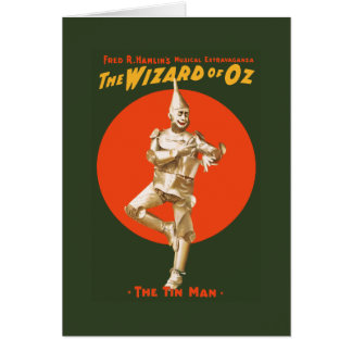 The wizard of Oz Musical Extravaganza Card