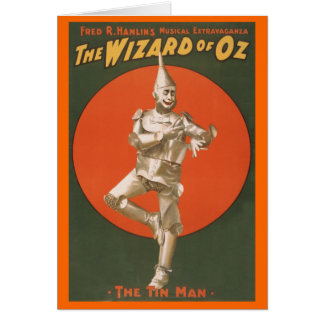 The Wizard of Oz Musical - The Tin Man Card