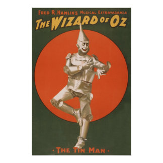 The Wizard of Oz Musical - The Tin Man Print