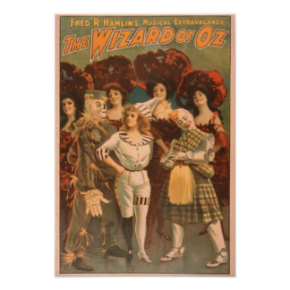"""""""The wizard of Oz"""" Musical Theatre Poster #1"""