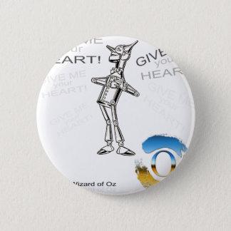 The Wizard of Oz -tin woodnan - illustration 2 Inch Round Button