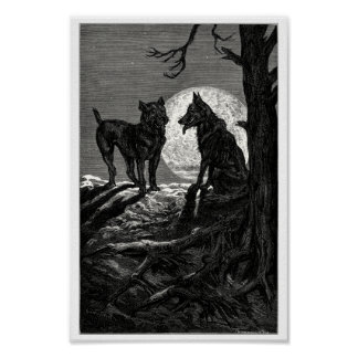 The wolf and the mastiff poster