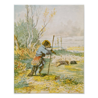 The Wolf as a Shepherd Poster