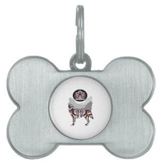 The Wolf Pack Pet Tag
