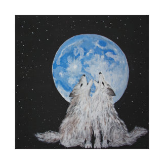 The Wolves Have Returned Canvas Print