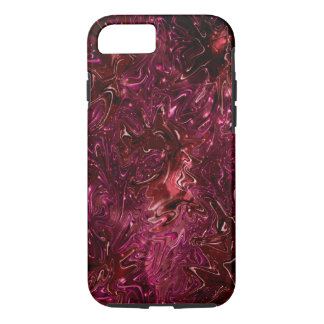 The Wolves Hidden in the Pink Tourmaline Galaxy iPhone 7 Case