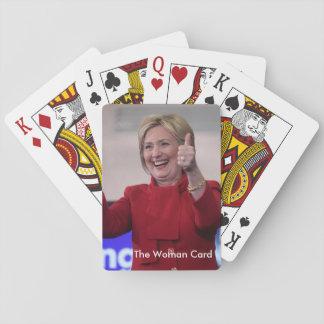 The Woman Card - Hillary Clinton
