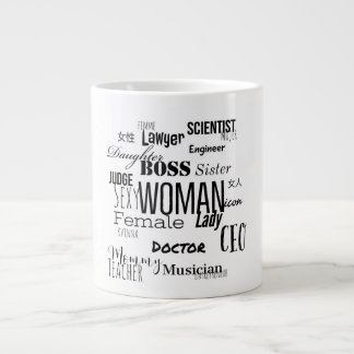 THE WOMAN COFFEE MUG (Black)
