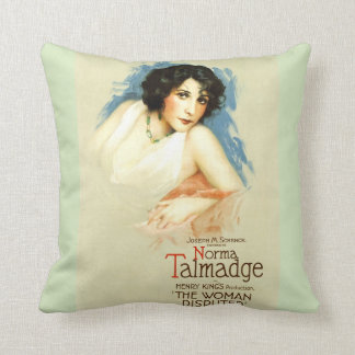 The Woman Disputed Throw Pillow